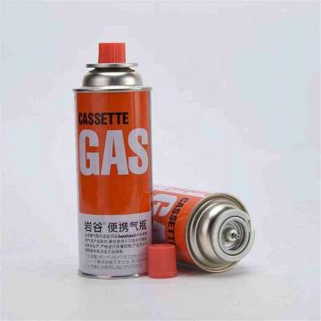 220g slim Portable Butane gas cartridge for portable gas stove with filled butane gas