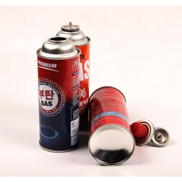 Heat Resistance Butane gas canister 220g and tinplate BBQ butane gas cartridge