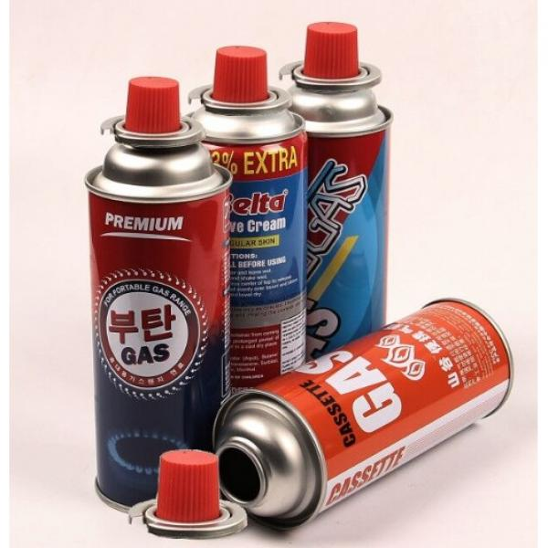 camping stove use Butane Propane Isobutane Valved Camping Gas Canister Cartridge