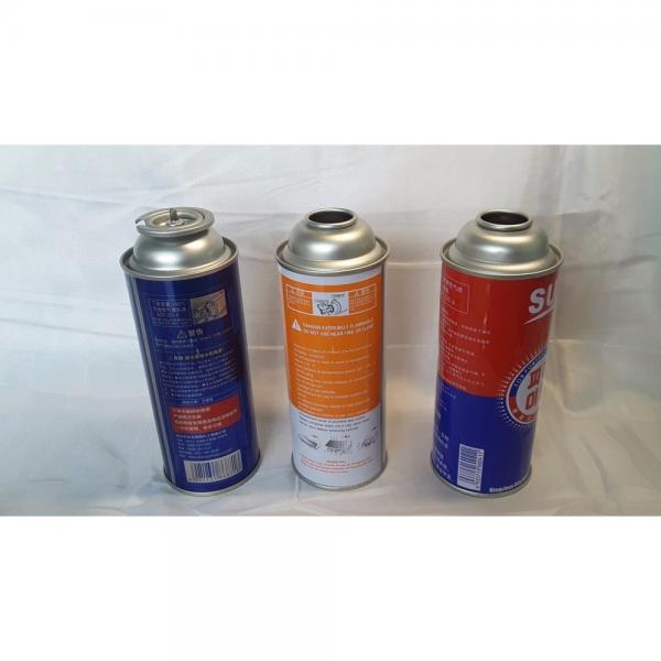 Customers Requirement Camping butane gas Refill bottles cylinder for sale