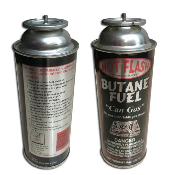 butane gas 300ml Round Shape Portable butane gas cartridge and butane gas canister