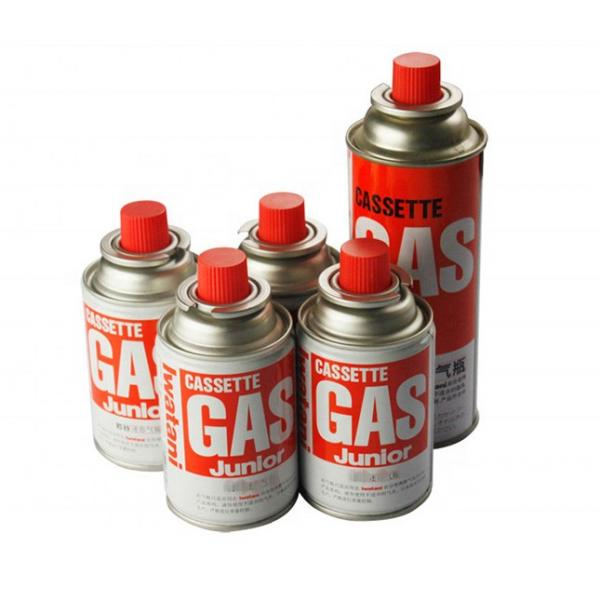Cleaning Portable Outdoor stainless steel material 220gr butane gas cylinder