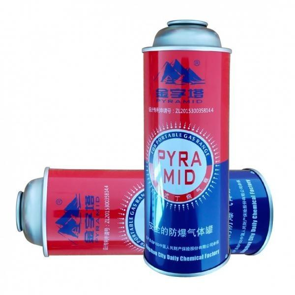 For Outdoor Camping tin aerosol can and gas cartridge