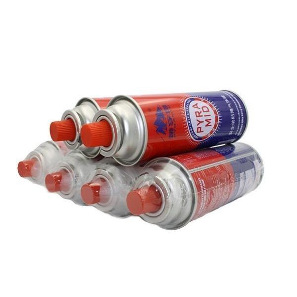 Cans Butane Gas Cartridges Portable Fuel Cylinder Cooker Camping  Picnic net weight 220g